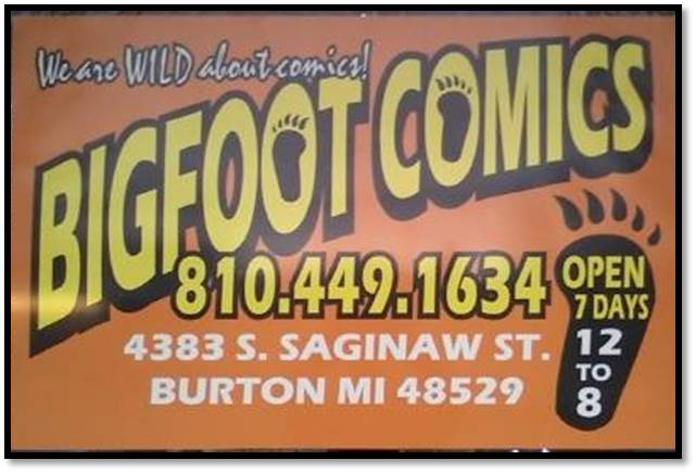 bigfoot comics